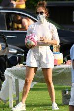 Jennifer Lopez  Celebrates  Alex Rodriguez's  Daughters 12th Birthday Party in Miami