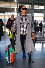 Rihanna  In Dior @  JFK Airport in New York