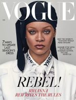 Rihanna Covers  Vogue UK Magazine May 2020