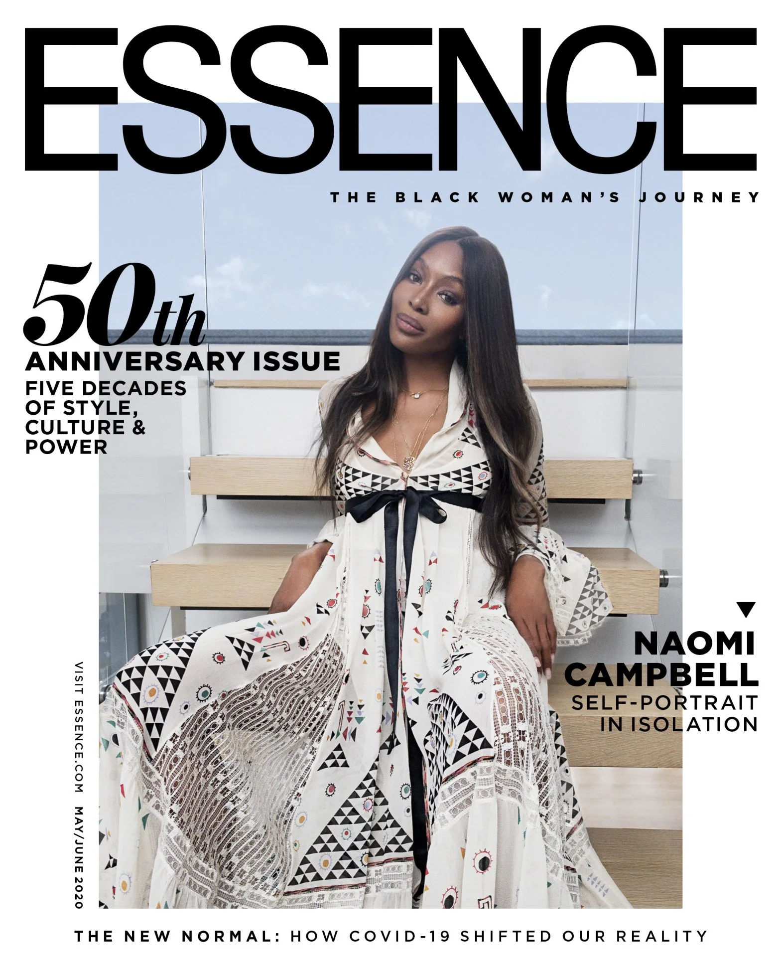 naomi-campbell-photographs-herself-for-essence-50th-anniversary-issue-cover