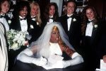 Dennis Rodman Wore  A Wedding Dress & Claimed To Marry himself