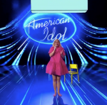 Katy Perry Shows Her  Baby Bump During American Idol Finale Performance