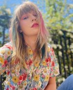 Taylor Swift In R13 Skater Shirt @ Instagram Pic May 17, 2020