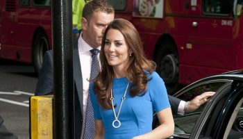 kate-middleton-recyles-stella-mccartney-dress-national-portrait-gallery-june-10-2020