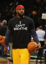 "Lebron James Posts  Pic Wearing "" I Cant Breathe Shirt ""  Following George Floyd's Death"