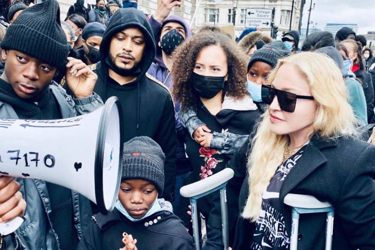 madonna-in-black-lives-matter-protest-in-london