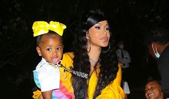 cardi-b-daughter-kulture-attends-teyana-taylors-album-listening-party