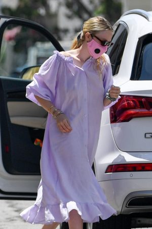 dakota-fanning-in-lavender-dress-arrives-spa-in-beverly-hills-los-angeles-july-6-2020