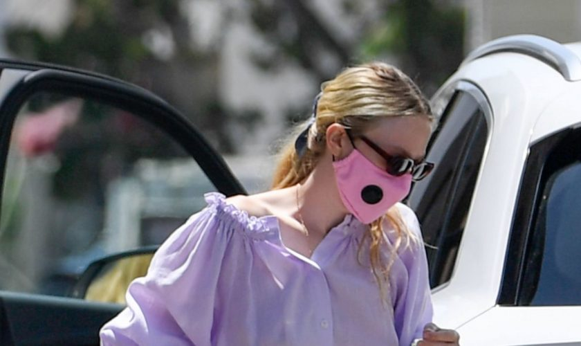 dakota-fanning-in-lavender-dress-arrives-spa-in-beverly-hills-los-angeles-july-6-2020