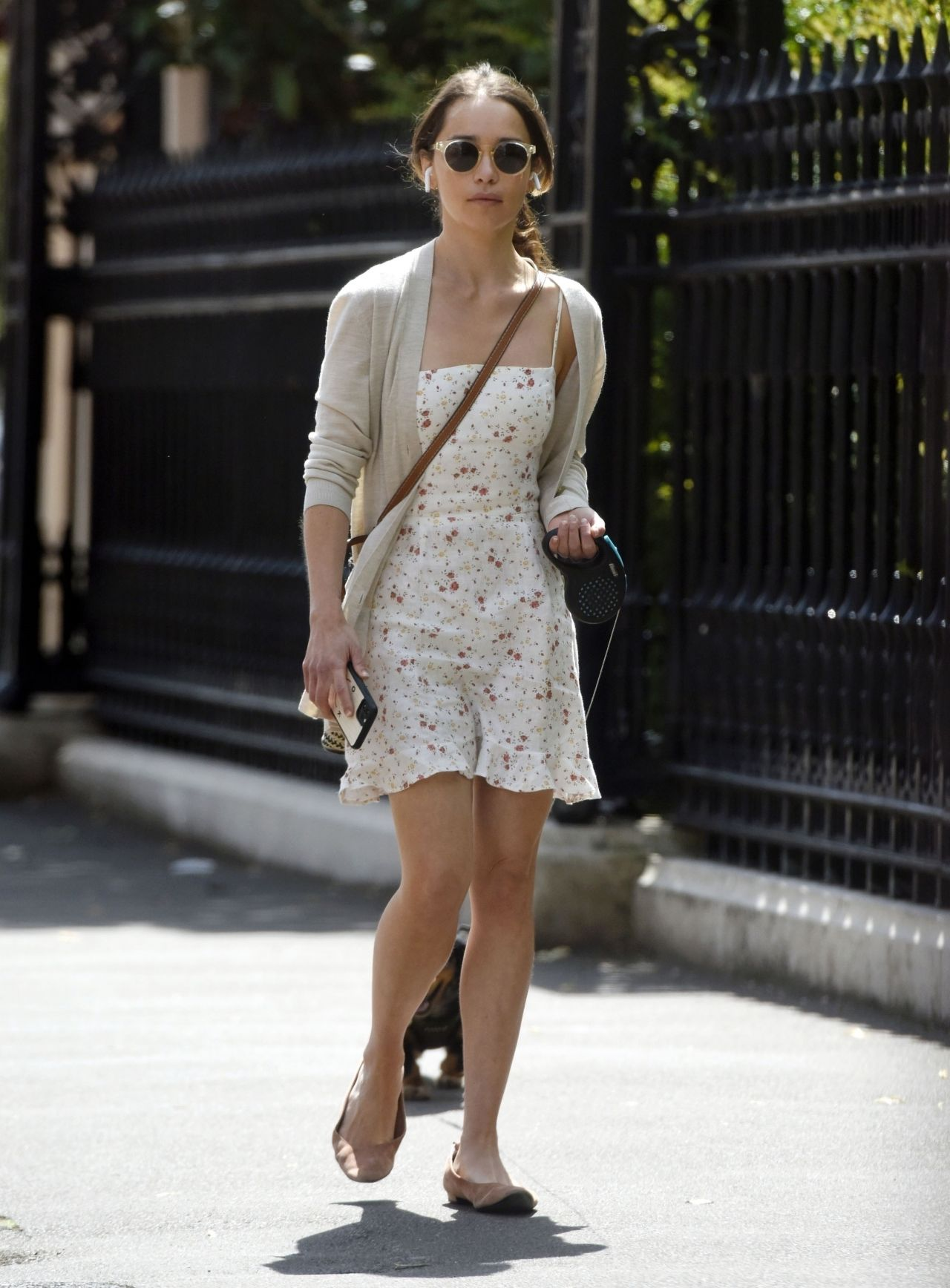 emilia-clarke-in-reformation-dress-the-row-out-in-london-07-15-2020