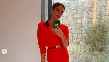 victoria-beckham-in-coral-victoria-beckham-dress-for-a-date-night-with-husband-david-into-greece