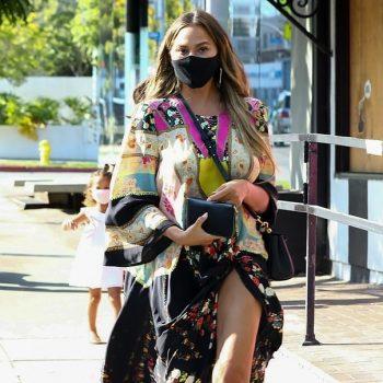 chrissy-teigen-wears-etro-dress-in-los-angeles-august-4-2020