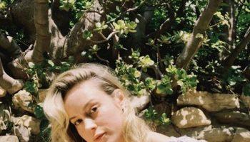 brie-larson-in-mango-ruffled-top-instagram-august-24-2020