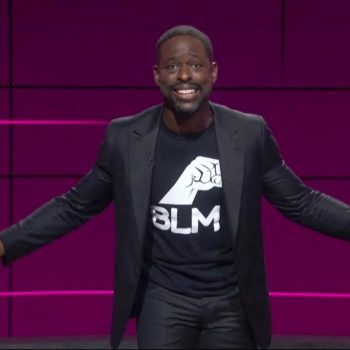 sterling-k-brown-rocks-suit-with-blm-t-shirt-2020-virtual-emmys