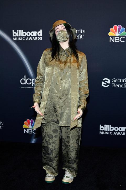 Billie Eilish in Gucci @ 2020 Billboard Music Awards ...
