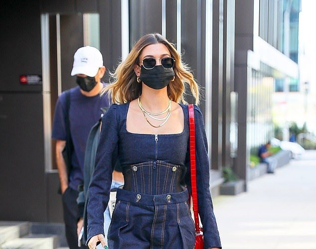 hailey-baldwin-in-vivienne-westwood-denim-outfit-out-in-new-york