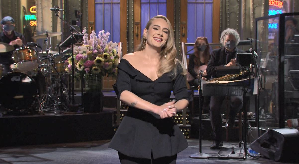 adele-in-brock-collection-hosting-saturday-night-live