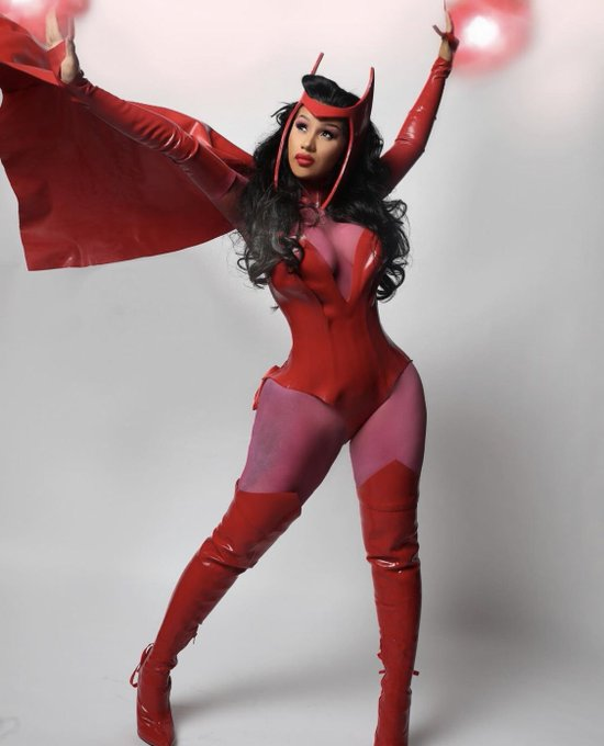 cardi-b-as-scarlet-the-witch-for-halloween-2020