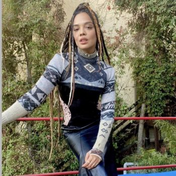 tessa-thompson-in-marine-serre-the-sylvies-love-virtual-press-day