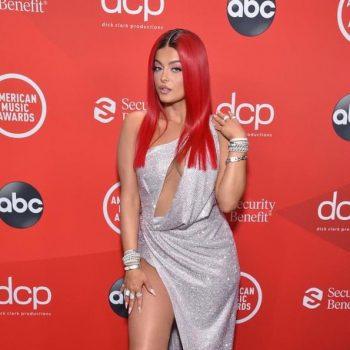 bebe-rexha-wore-julien-macdonald-amas-2020-red-carpet