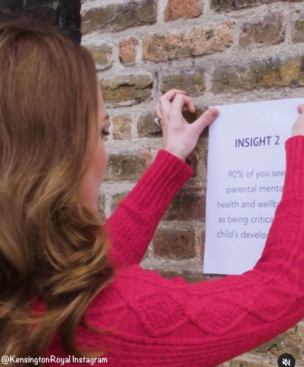 duchess-of-cambridge-wore-red-sweater-unveils-5-big-insights-from-early-years-study