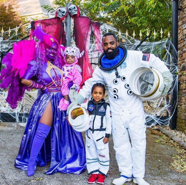 kandi-burruss-family-halloween-2020