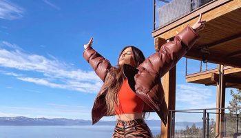 kim-kardashian-wearing-tiger-print-vinyl-pants-instagram