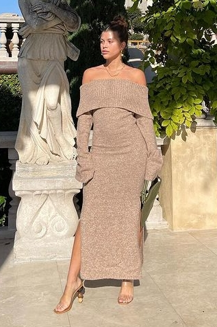 sofia-richie-wore-mariel-knit-dress-instagram