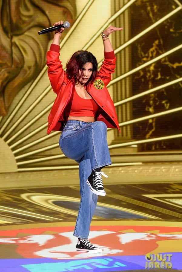 vanessa-hudgens-worered-bomber-jacket-2020-mtv-movie-tv-awards-greatest-of-all-time