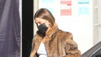 hailey-bieber-wore-faux-fur-coat-out-in-santa-monica
