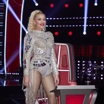 gwen-stefani-wore-custom-dulce-bestia-jumpsuit-the-voice-season-19