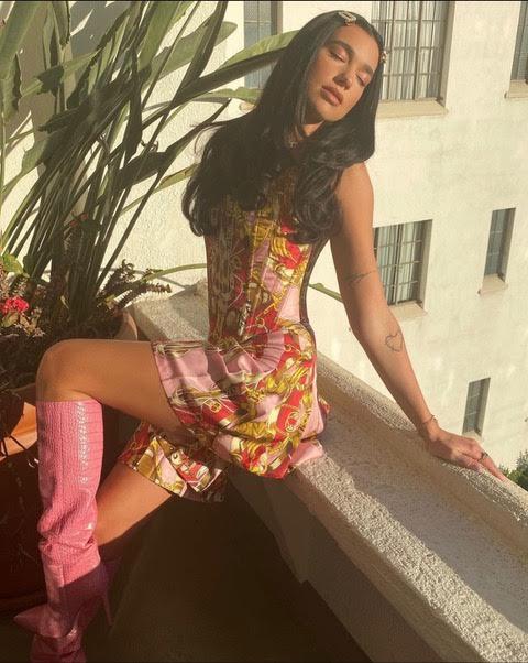 dua-lipa-wears-paris-texass-boots-instagram