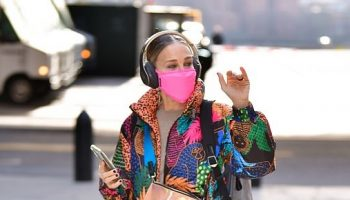 sarah-jessica-parker-in-farm-rio-puffer-jacket-out-in-new-york-city