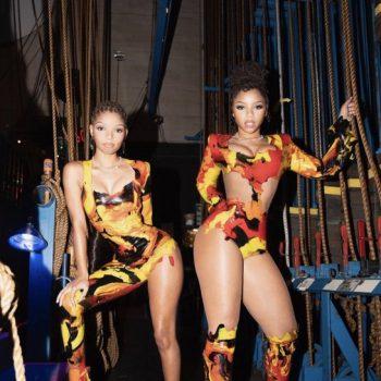 chloe-x-halle-in-custom-venus-prototype-latex-outfits