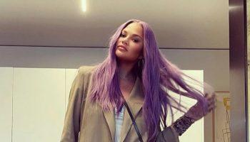 chrissy-teigen-debuts-lavender-hair-instagram