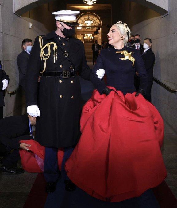 lady-gaga-wore-custom-schiaparelli-couture-inauguration