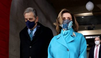 speaker-nancy-pelosi-wearing-a-baby-blue-coat-inauguration-2021