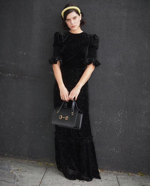 soko-wore-the-vampires-wifes-velvet-dress-mayday-press-day