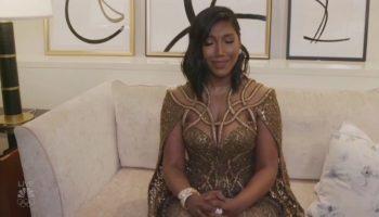 chadwick-bosemans-wife-taylor-simone-ledward-accepts-golden-globe-award-on-his-behalf