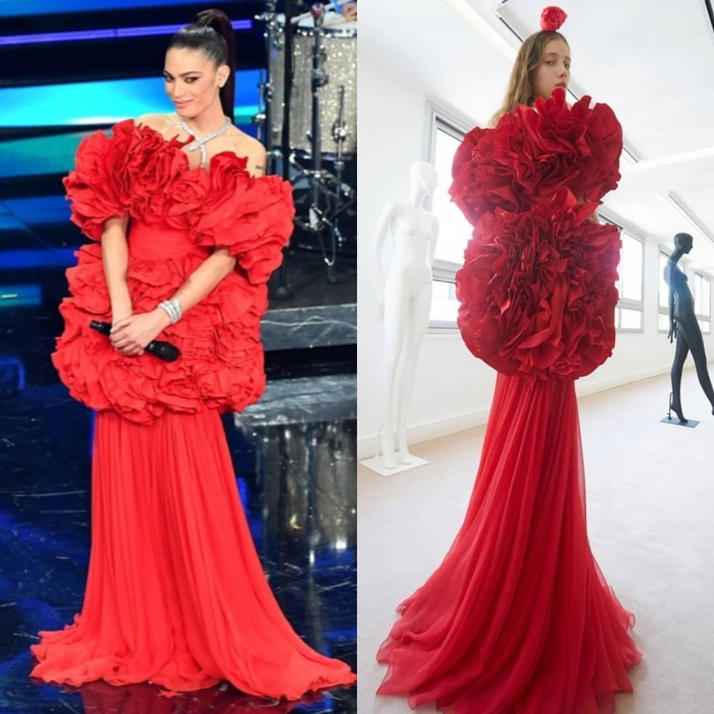 elodie-wore-giambattista-valli-haute-couture-performing-sanremo-2021
