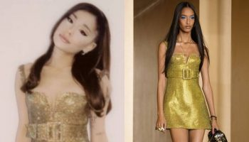 ariana-grande-wore-versace-dress-instagram