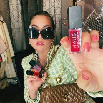 lady-gaga-wearing-moschino-promoting-haus-labs