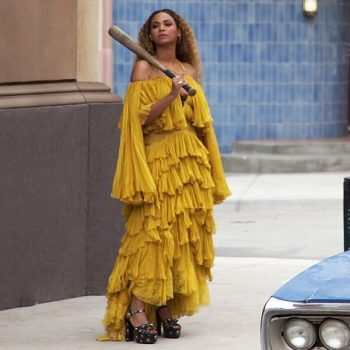 beyonce-wearing-roberto-cavalli-ruffled-gown-for-lemonade
