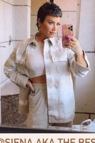 demi-lovato-wore-stella-mccartney-tie-dye-denim-jacket-instagram