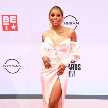 eva-marcille-wore-michael-costello-dress-2021-bet-awards