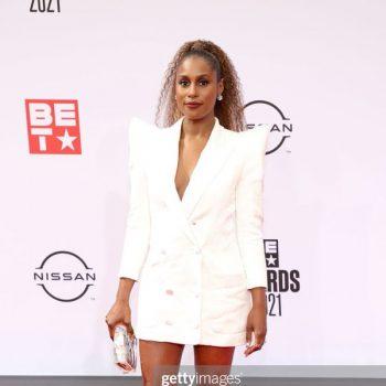issa-rae-rocks-white-blazer-2021-bet-awards