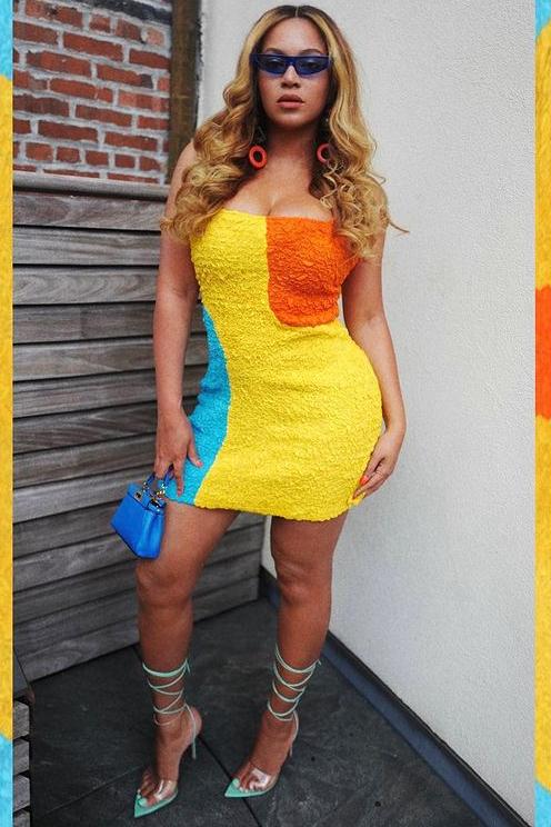 beyonce-wears-mara-hoffman-dress-instagram