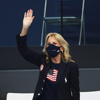 jill-biden-wore-ralph-lauren-team-usa-outfit-to-cheer-on-us-athletes-at-tokyo-olympic