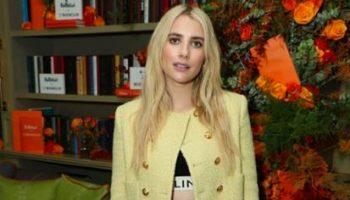 emma-roberts-wore-celine-jacket-belletrist-x-bookclub-launch
