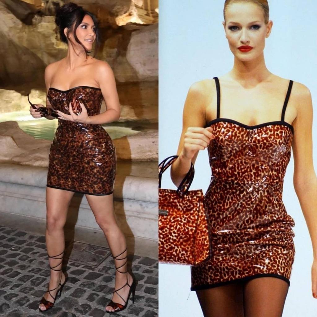 kim-kardashian-wore-dolce-gabbana-dress-out-in-rome